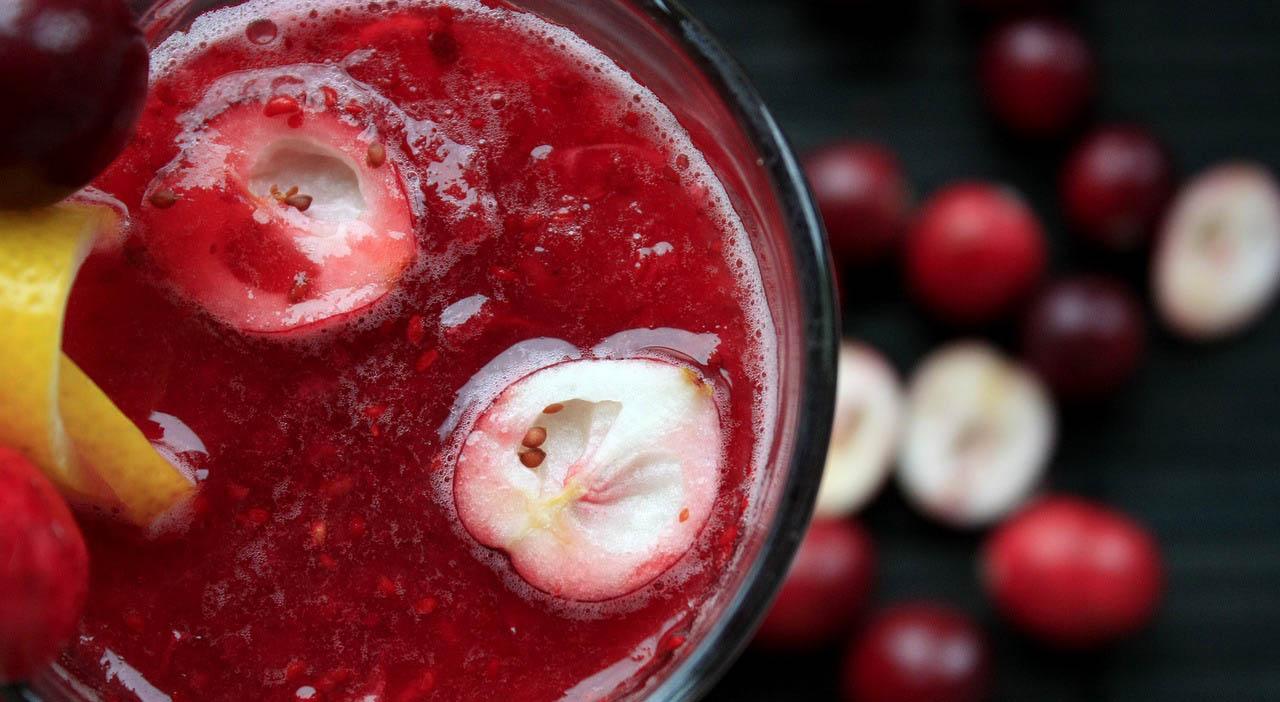 zumos para licuadora: zumo de frutos rojos
