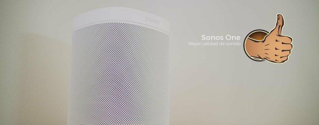 Altavoces inteligentes: Sonos One