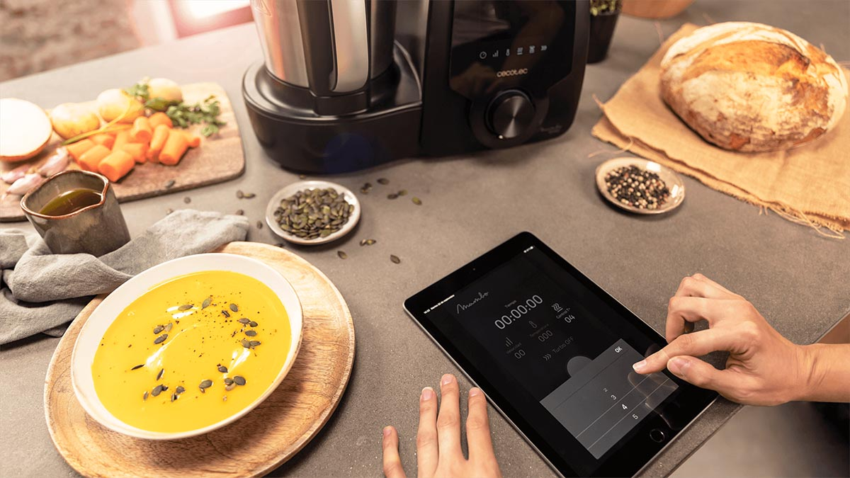 los mejores robots de cocina conectados